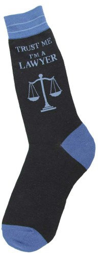 Mens Socks - Trust Me, I'm a Lawyer