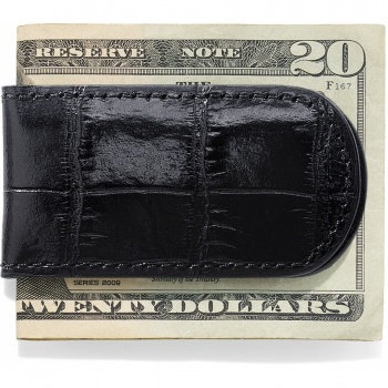 Brighton Croco Money Clip