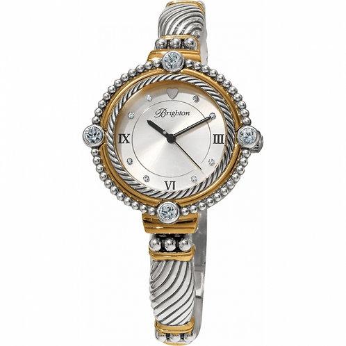 Brighton Silver/Gold Costa Mesa Watch