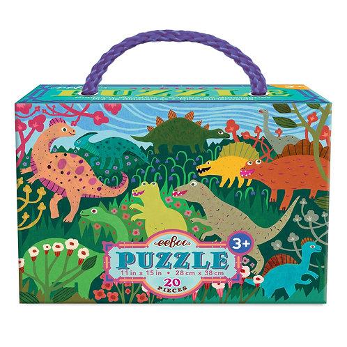 20 Piece Puzzle - Dinosaur Meadow