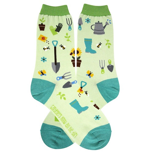 Womens Socks - Gardener
