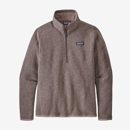 Patagonia - W's Better Sweater 1/4-Zip Fleece  in Furry Taupe