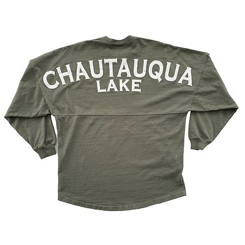 Classic Chautauqua Lake Spirit Jersey in Army Green