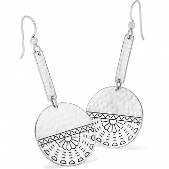 Brighton Marrakesh Mystique Disc French Wire Earrings