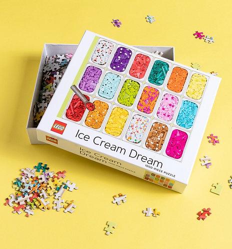 1000 Piece Puzzle - Lego Ice Cream Dream