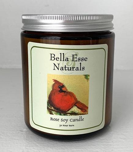 Cardinal Candle - Rose
