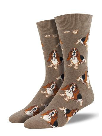 Mens Socks - Nothing But A Hound Dog