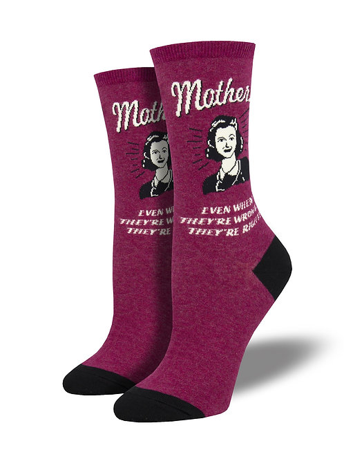 Womens Socks - Mothers Know Best