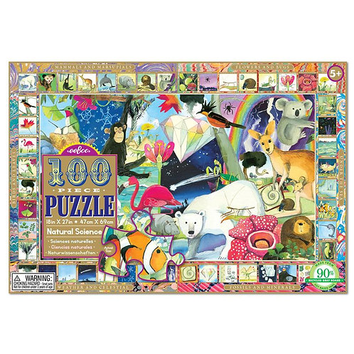 100 Piece Puzzle - Natural Science