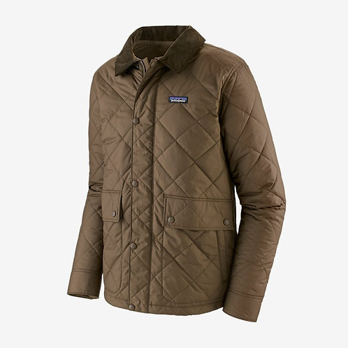 Patagonia - M's Diamond Quilted Jacket in Topsoil Brown