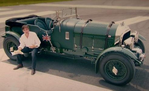 Petersen Blower Bentley Top Gear 50 Years Bond Special