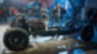Top Gear Petersen Blower Bentley rolling chassis Jeremy Clarkson
