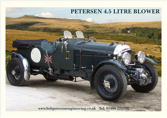 Petersen Blower Poster