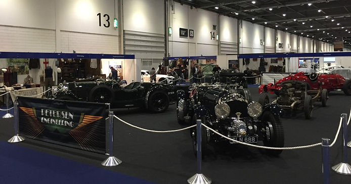 Petersen Engineering London Classic Car Show