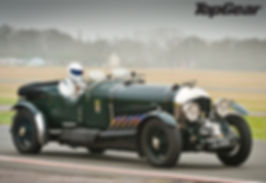 Petersen 27 litre spitfire aero engine car Top Gear