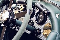 Petersen Blower Bentley dashboard