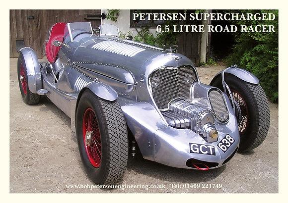 Petersen Road Racer Poster