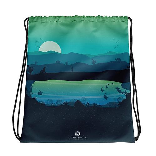 Galapagos Drawstring Bag