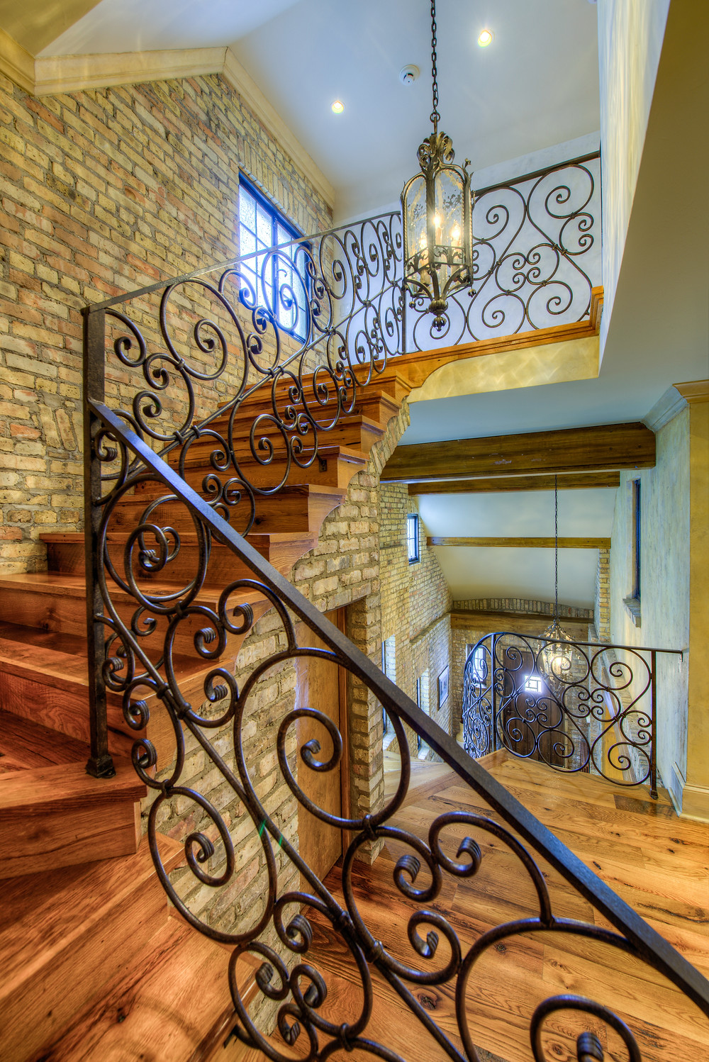 stairwell professional real estate photography
