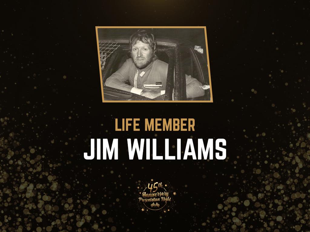 LIFE MEMBER JIM WILLIAMS