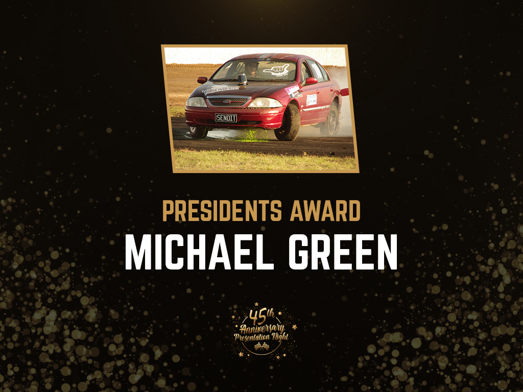 PRESIDENTS AWARD MICHAEL GREEN
