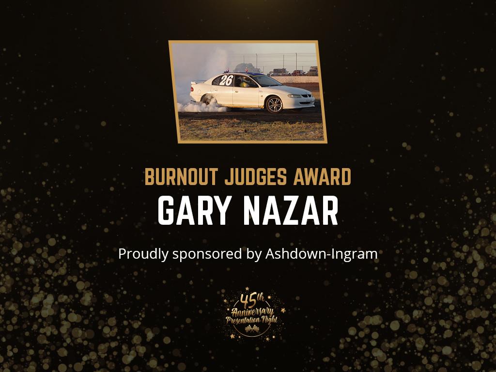 BURNOUT JUDGES AWARD