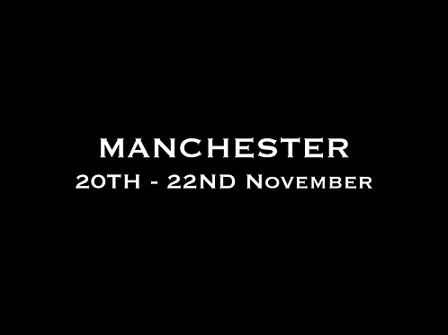 Manchester Special Rate Shoot 18th - 22nd November