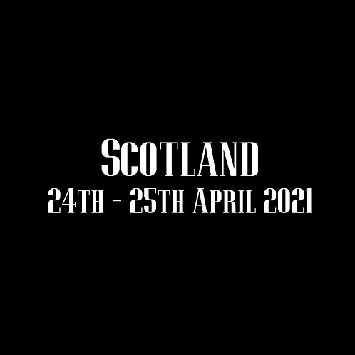 Scotland Special Rate Shoot 24th - 25th April 2021