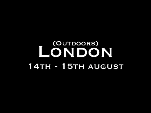 London Special Rate Shoot (outdoors) 14th - 15th August  2021