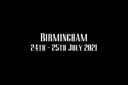 Birmingham  Special Rate Shoot 24th - 25th July 2021