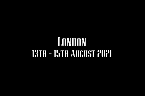 London Special Rate Shoot 13th - 15th August  2021