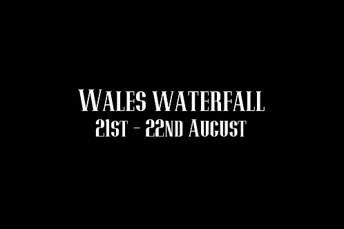 Wales Waterfall Special Rate Shoot 21st - 22nd August 2021