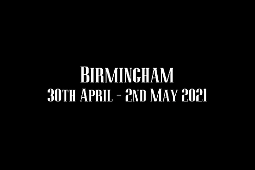 Birmingham  Special Rate Shoot 30th April - 2nd May 2021