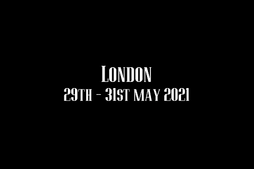 London Special Rate Shoot 29th -31st May 2021