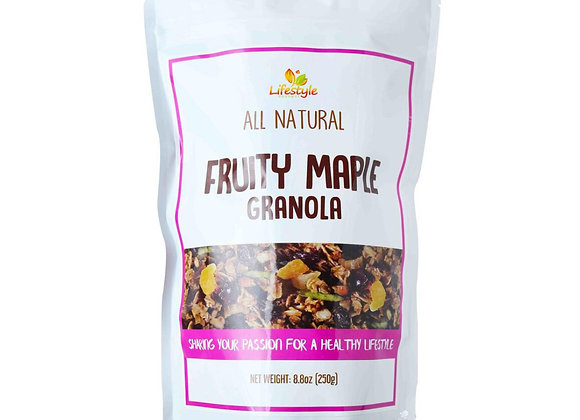 Fruity Maple Granola