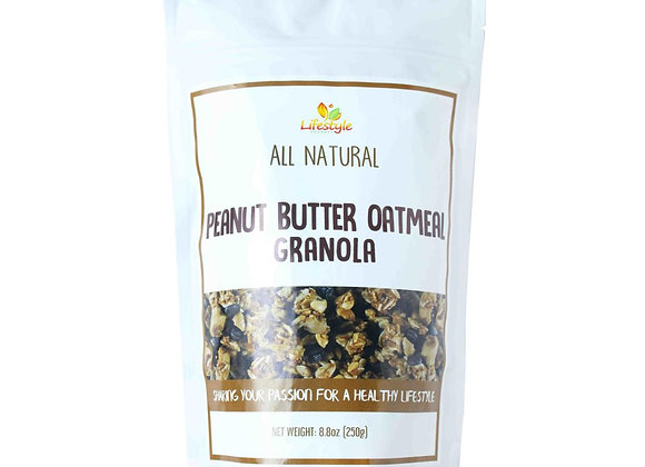 Peanut Butter Oatmeal Granola