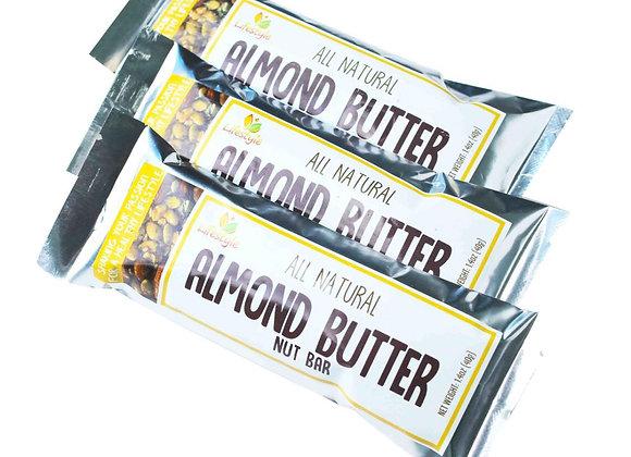 Almond Nut Bar 40g - 3 bars/pack