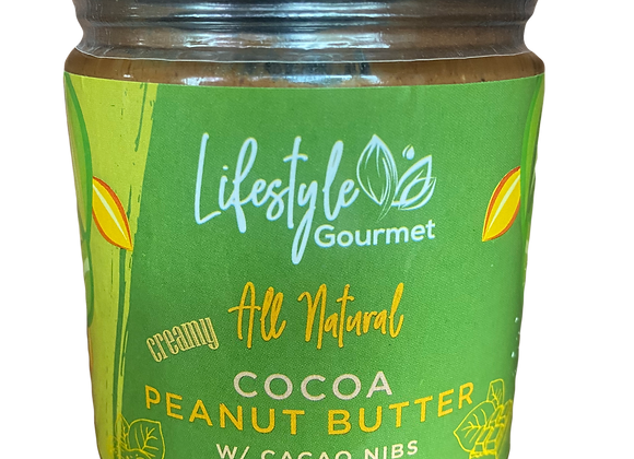 All Natural Cocoa Peanut Butter