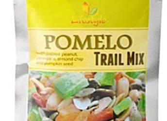 Pomelo Trail Mix 2 packs/42.5g