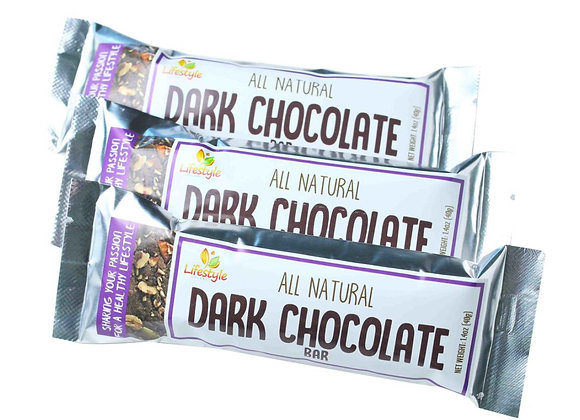 Dark Chocolate Nut Bar 40gm - 3 bars/pack