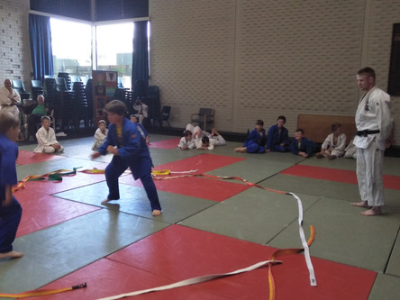 ACT President visits his former Club - Marist Judo Club