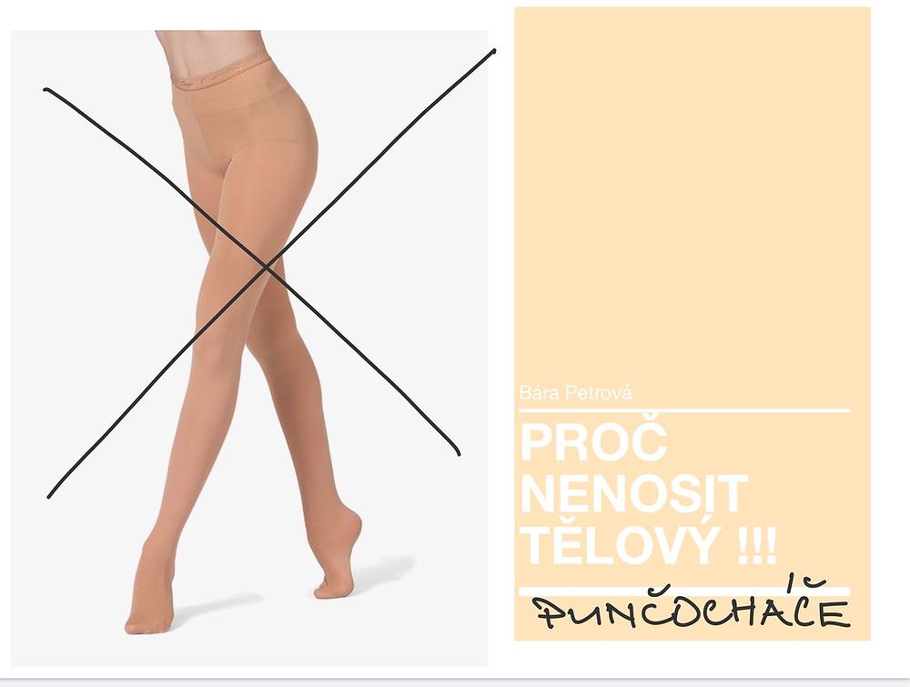 punčochy nohy tělová barva ženské nohy