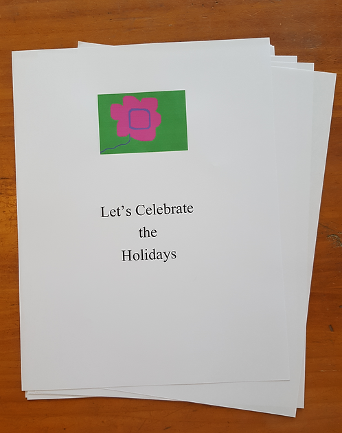 Let's Celebrate the Holidays - Loose Pages