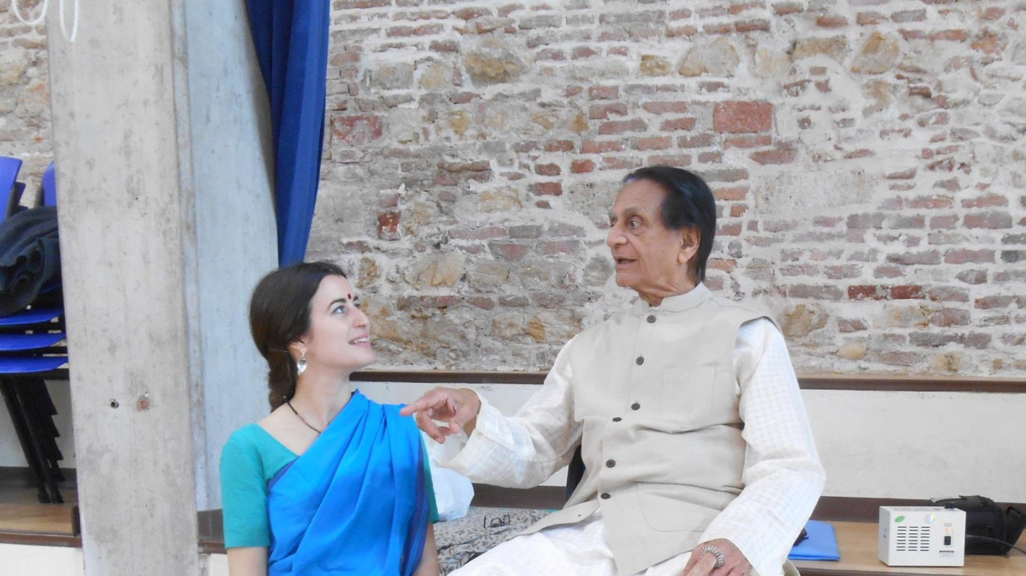 With Prof. CV Chandrashekar