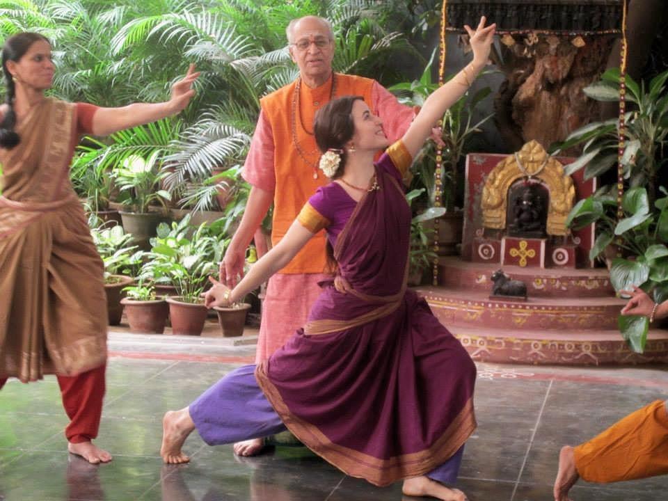 Learning with my Guru MR Krishnamurtyin India