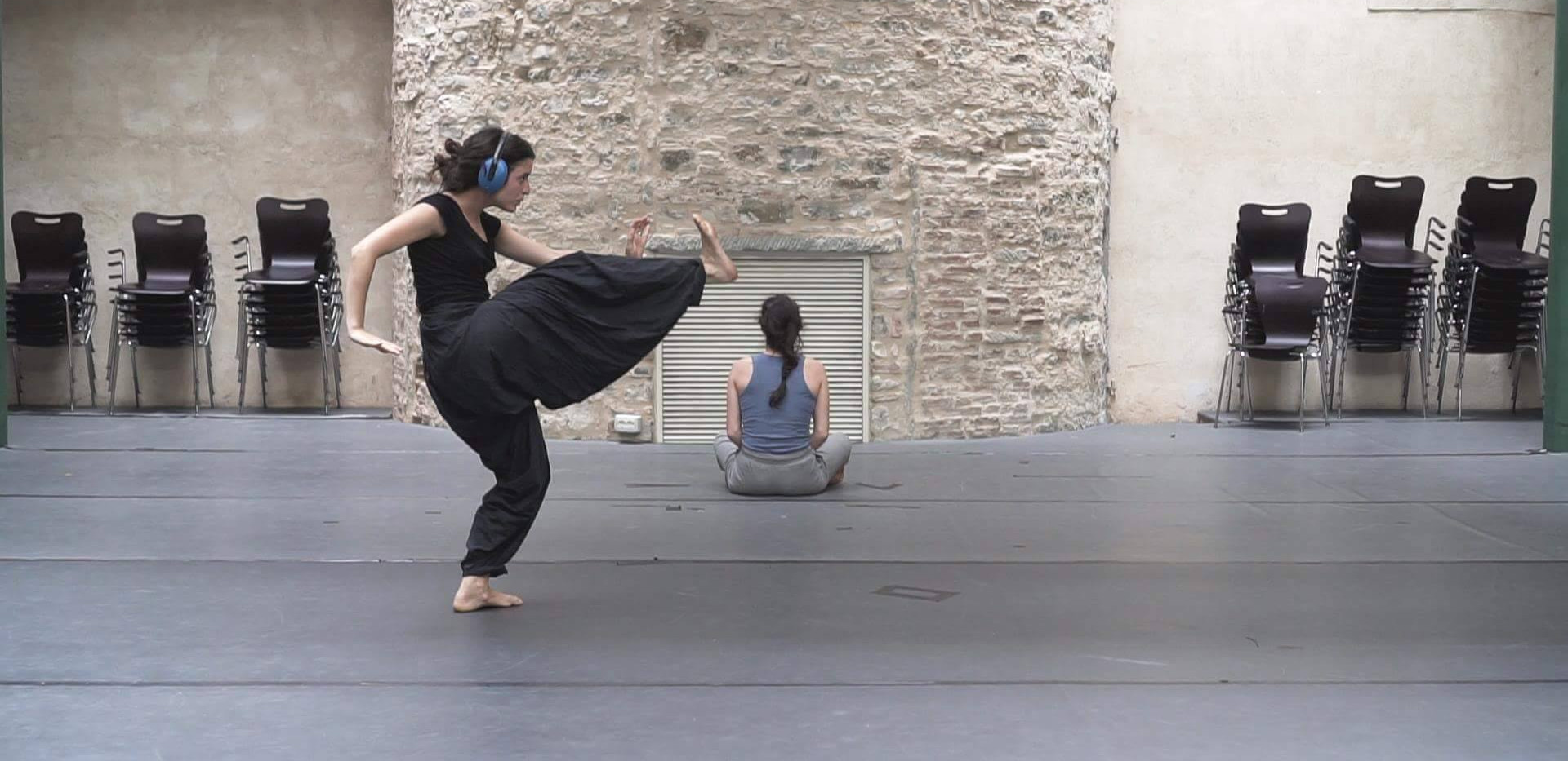 Experimenting with contemporary dance at Le Murate, Florence