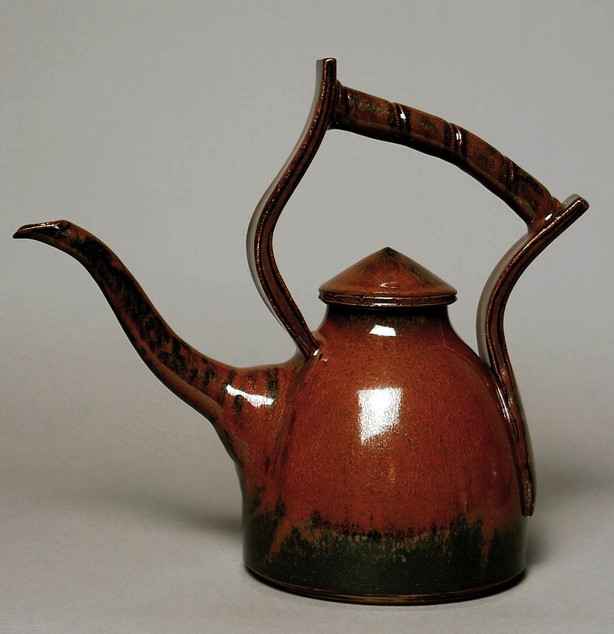 Cone 6 Teapot