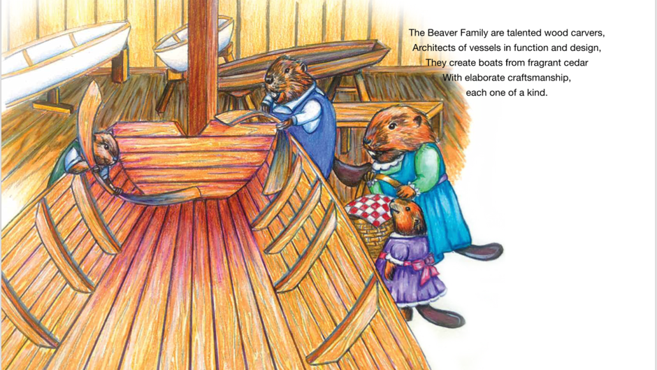 Sneak peek on inside  pages... The Mardi Gras Boat Parade! This delightful children/family book by a