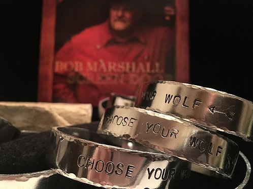 """Choose Your Wolf"" Bracelet"