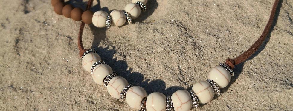 Set náramek+náhrdelník BUDDHA